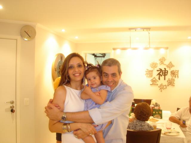 Reveillon 2009 - Em casa