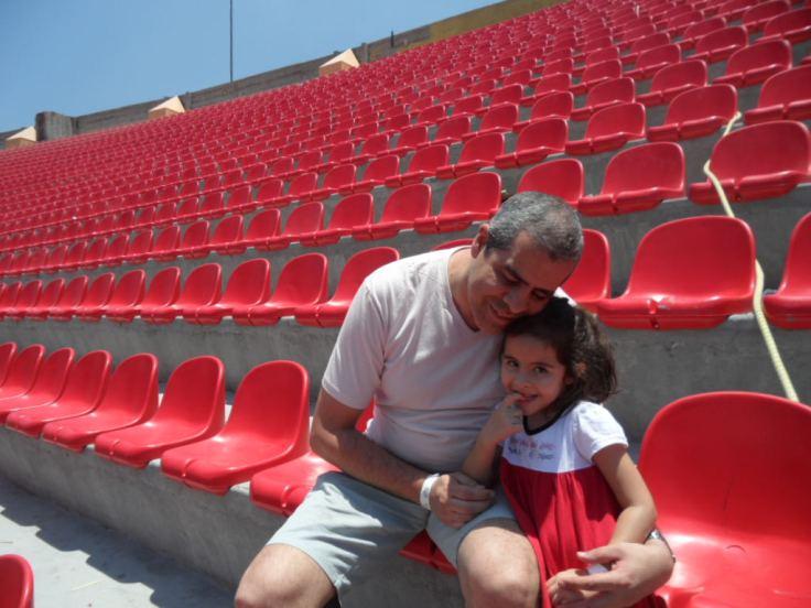 Visita ao Estádio do Morumbi